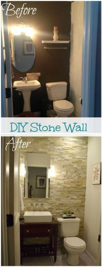 25+ best ideas about Bathroom Accent Wall on Pinterest