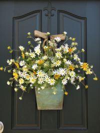 25+ best ideas about Front door decor on Pinterest   Front ...