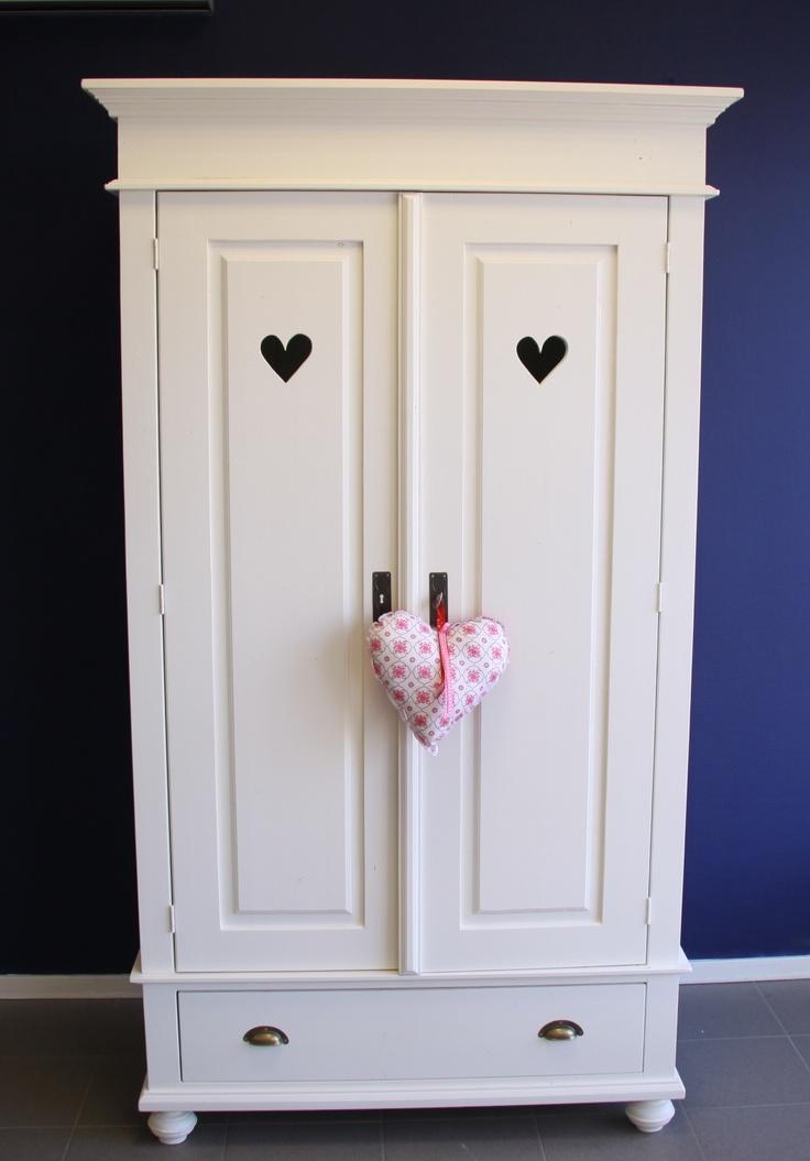 Baby Girl Bedroom Wallpaper Prachtige Witte Linnenkast Voor De Kinderkamer