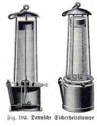 SIR HUMPHRY DAVY   'lampara de seguridad inventada por ...