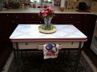 1000+ images about Vintage enamel kitchen tables on ...