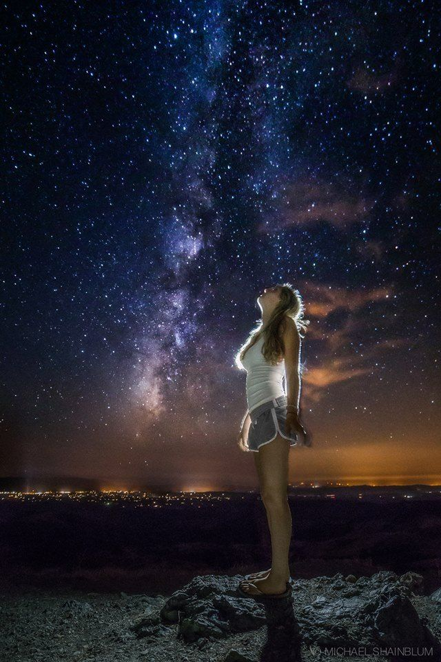 Sad Girl Death Wallpaper Seeing The Galaxy Starry Starry Night Pinterest The