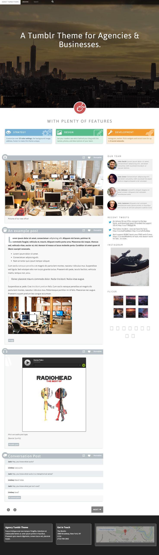 Agency is premium responsive tumblr business theme video background bootstrap framework retina ready