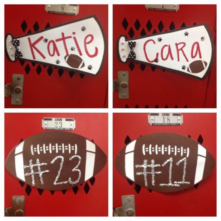 cheerleading locker decorations. 25 Best Cute Locker Decorations Ideas 82  Signs On Pinterest Sports LOCKER
