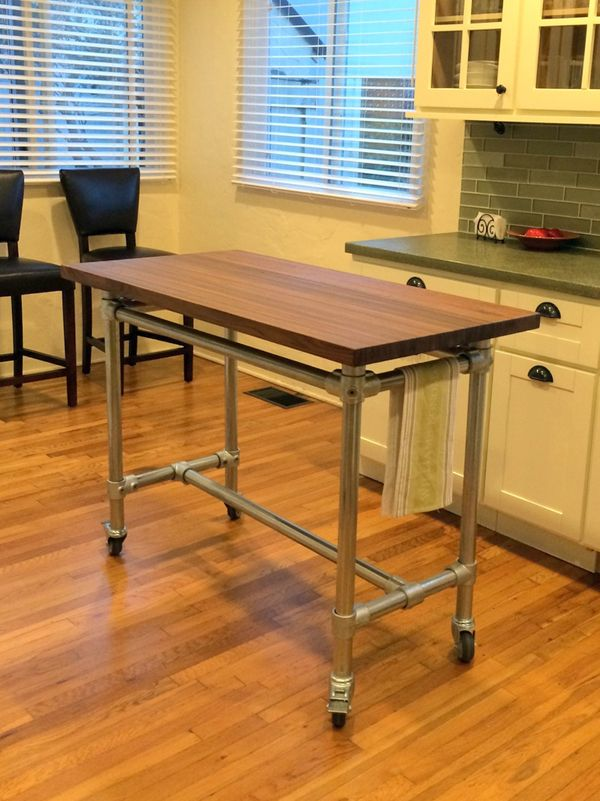 Different Ideas Diy Kitchen Island 1000+ Ideas About Rolling Table On Pinterest | Office