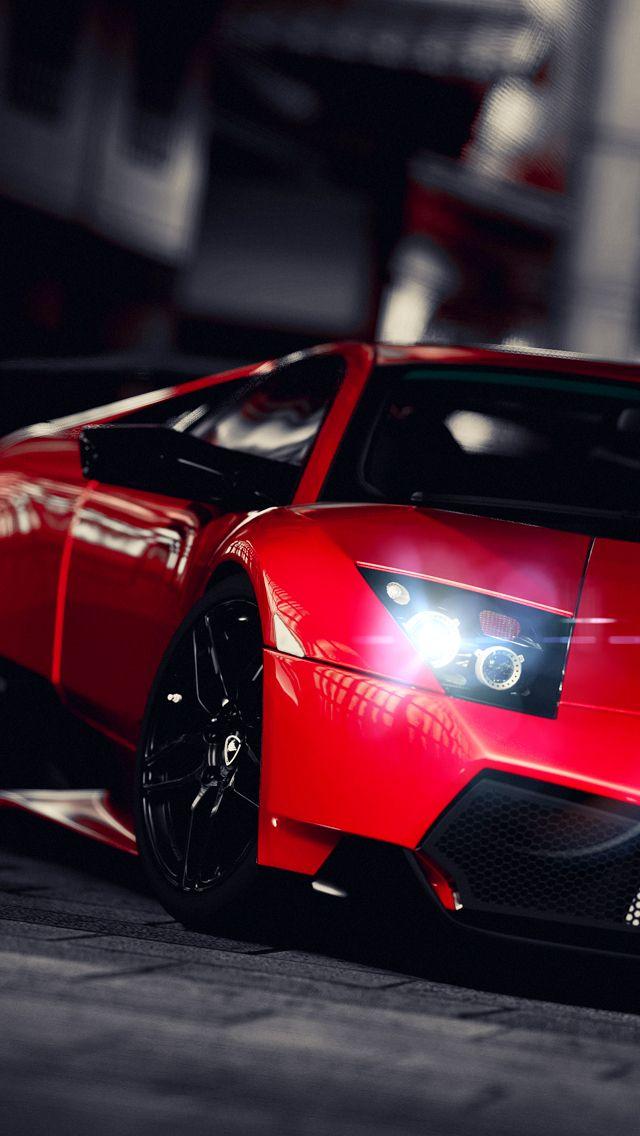 3d Car Wallpaper 1366x768 Iphone 5 Wallpaper Red Lamborghini Iphone 5 Wallpapers