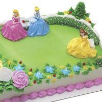 stop and shop princess garden birthday cakes | Disney ...