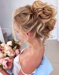 25+ best ideas about High bun wedding on Pinterest