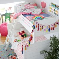17 Best ideas about White Bunk Beds on Pinterest | Girls ...