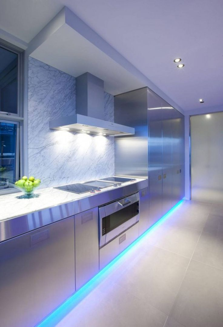 led kitchen lighting ideas contemporary kitchen lighting A Contemporary Kitchen by Mal Corboy Auckland New Zealand based designer Mal Corboy has sent us some photos of a contemporary kitchen he has completed