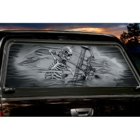 Mr. Bones Large Rear Truck Window Tint | Trucks, Products ...