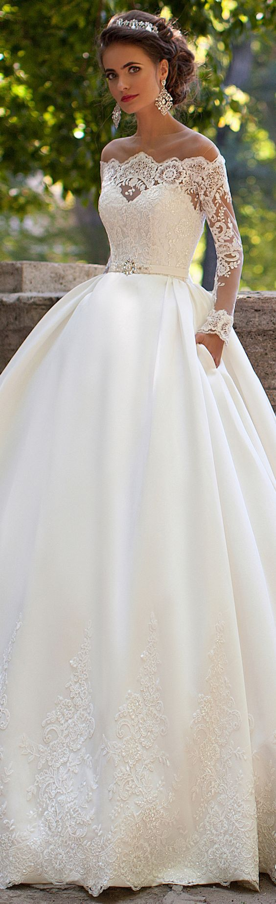 sleeve wedding dresses wedding dresses with sleeves Stunning Long Sleeve Wedding Dresses