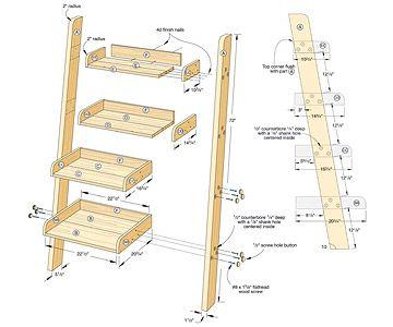 17 Best Ideas About Ladder Bookcase On Pinterest Ladder