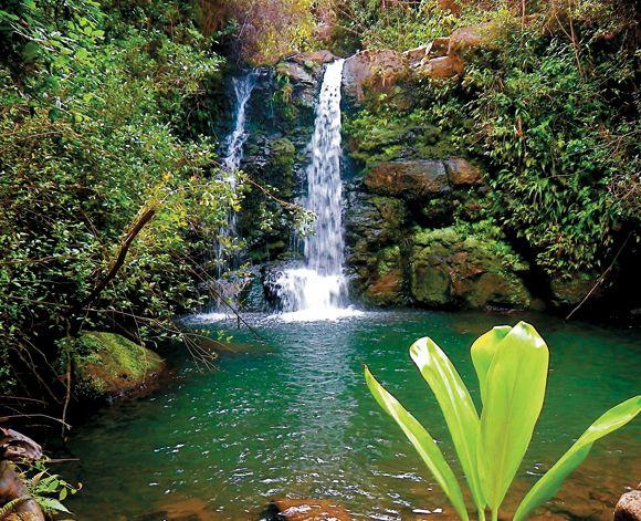 Hawaii Desktop Wallpaper Hd Hawaiian Waterfalls Hawaii S Waterfalls Beckon Groups To