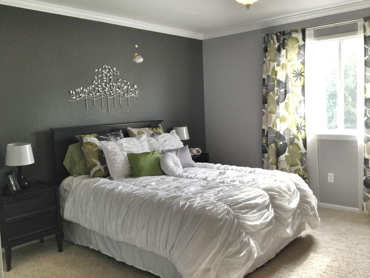 10+ Images About Decorating Grey - Bedroom On Pinterest | Grey