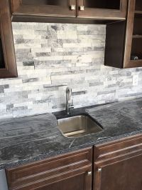 Best 25+ Stacked Stone Backsplash ideas on Pinterest ...