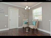 "Walls- Behr Paint - ""Perfect Taupe"" 