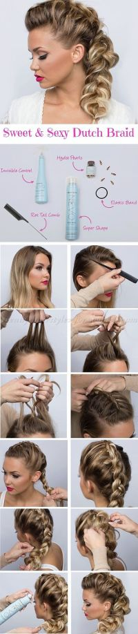 1000+ ideas about Dutch Braid Tutorials on Pinterest ...
