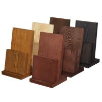 Wooden Menu Holder H-MH201 | Cafe - Great environments ...
