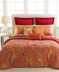 Bold paisley bedding | For the Home | Pinterest ...
