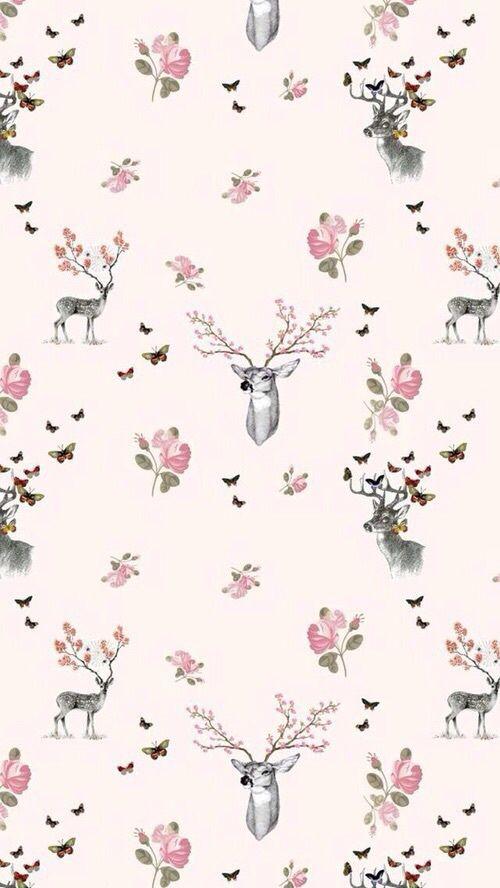 Moose Cute Minimalist Wallpaper 25 Best Ideas About Deer Wallpaper On Pinterest