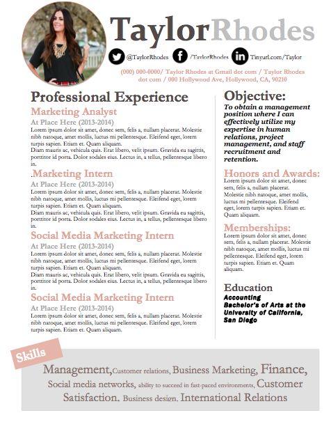 resume template word linkedin