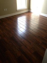 Wedge Job - Nobile Siena 8x24 Wood Look Ceramic Tile ...