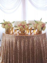 15+ best ideas about Sweetheart Table Decor on Pinterest ...