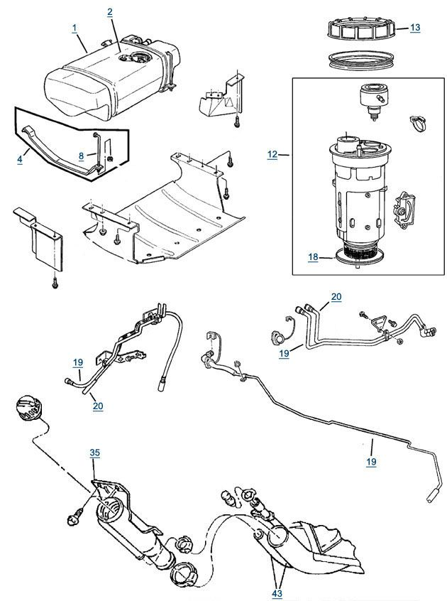 diesel fuel pump wiring diagram