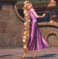 rapunzel with braid - Google Search | Disney Princesses ...