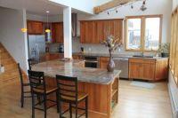 Light Cherry Cabinets Kitchen | ... light maple flooring ...