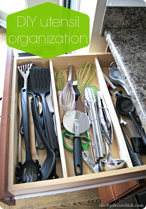 Kitchen Drawer Knife Organizer 1000+ Images About Kitchen - Organized Drawers On
