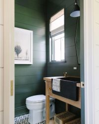 25+ best ideas about Dark green bathrooms on Pinterest ...