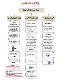 Heat Transfer Worksheet. Worksheets. Kristawiltbank Free ...