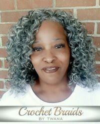 Gray Hair Braided Styles   beautiful box braids the best ...