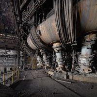 derelict blast furnace // industrial urban exploration ...