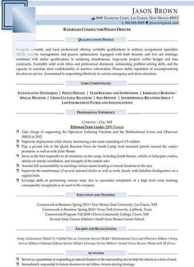 resume testimonials examples