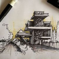 Best 25+ Architectural sketches ideas only on Pinterest ...