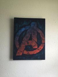 Avengers comic book decor super hero wall art by ...
