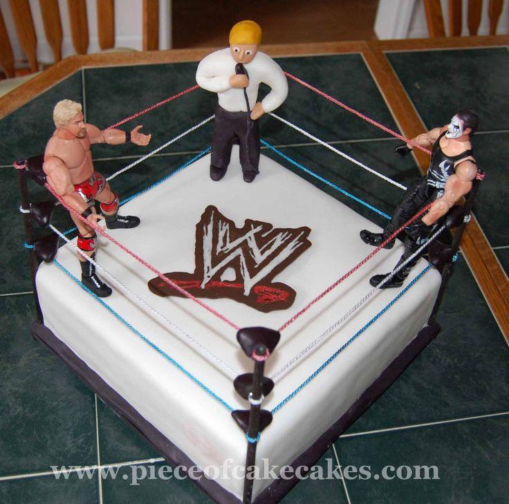 17 Best Images About Wrestling Cake On Pinterest Belt