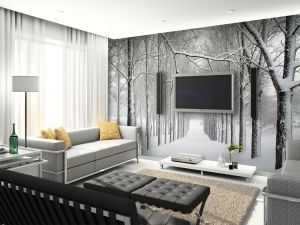 Mural wall, Graphics and Wall murals on Pinterest