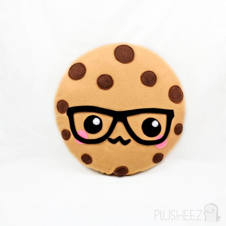 Cute Sweet Wallpapers For Phone Smart Cookie Plush Toy Plushie Kawaii Novelty Food Humour