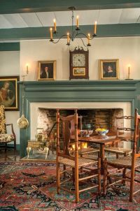 1589 best images about Colonial Main Living Rooms and ...