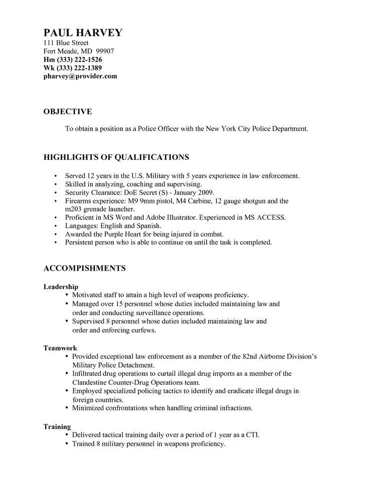 sample police resume resume cv cover letter ethics officer sample - police dispatcher resume