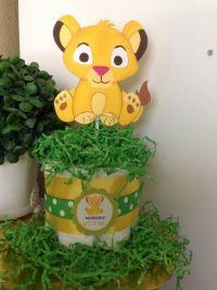 Baby Lion King Theme Centerpiece | baby shower Ideas ...