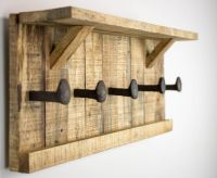1000+ ideas about Pallet Coat Racks on Pinterest | Coat ...