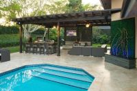 Outdoor Kitchen and pergola Project in South Florida ...
