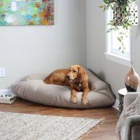Best 25+ Bolster Dog Bed ideas on Pinterest | Xxl dog beds ...