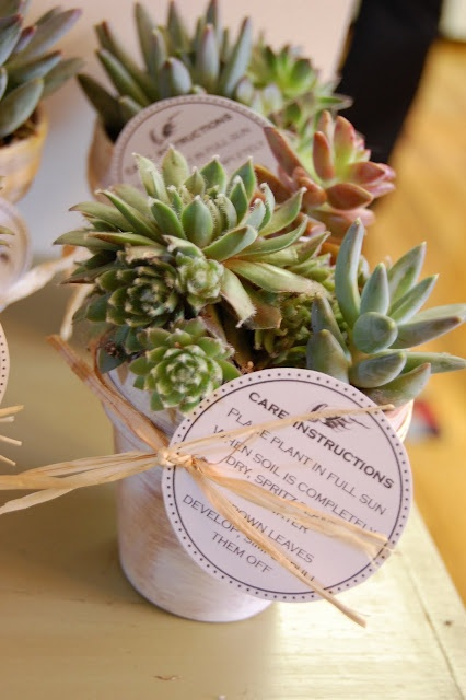 wedding favor gift tags