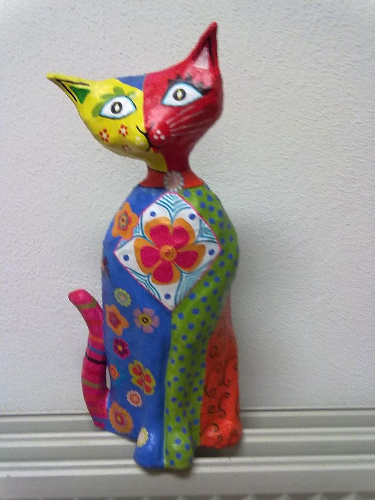 2486 Best Images About Paper Mache Cat On Pinterest Cats